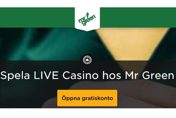 Klicka här och lira Live Roulette på Mr Green!