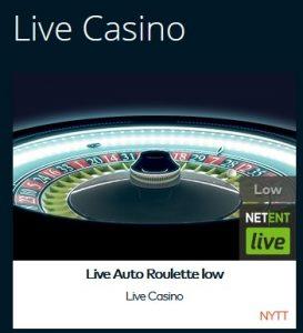 Spela Live Auto Roulette på Fun Casino!