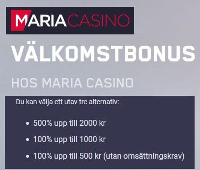 Tävla om lyxkryssningen till Oslo nu via Maria Casino!