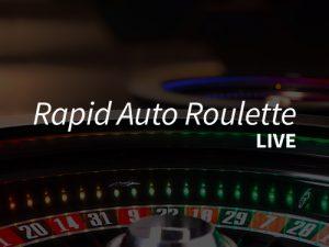 Rapid Auto Roulette i ett nötskal