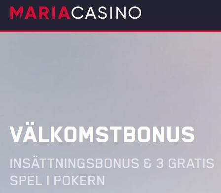 Få mänsklig kontakt i Live Roulette hos Maria Casino!
